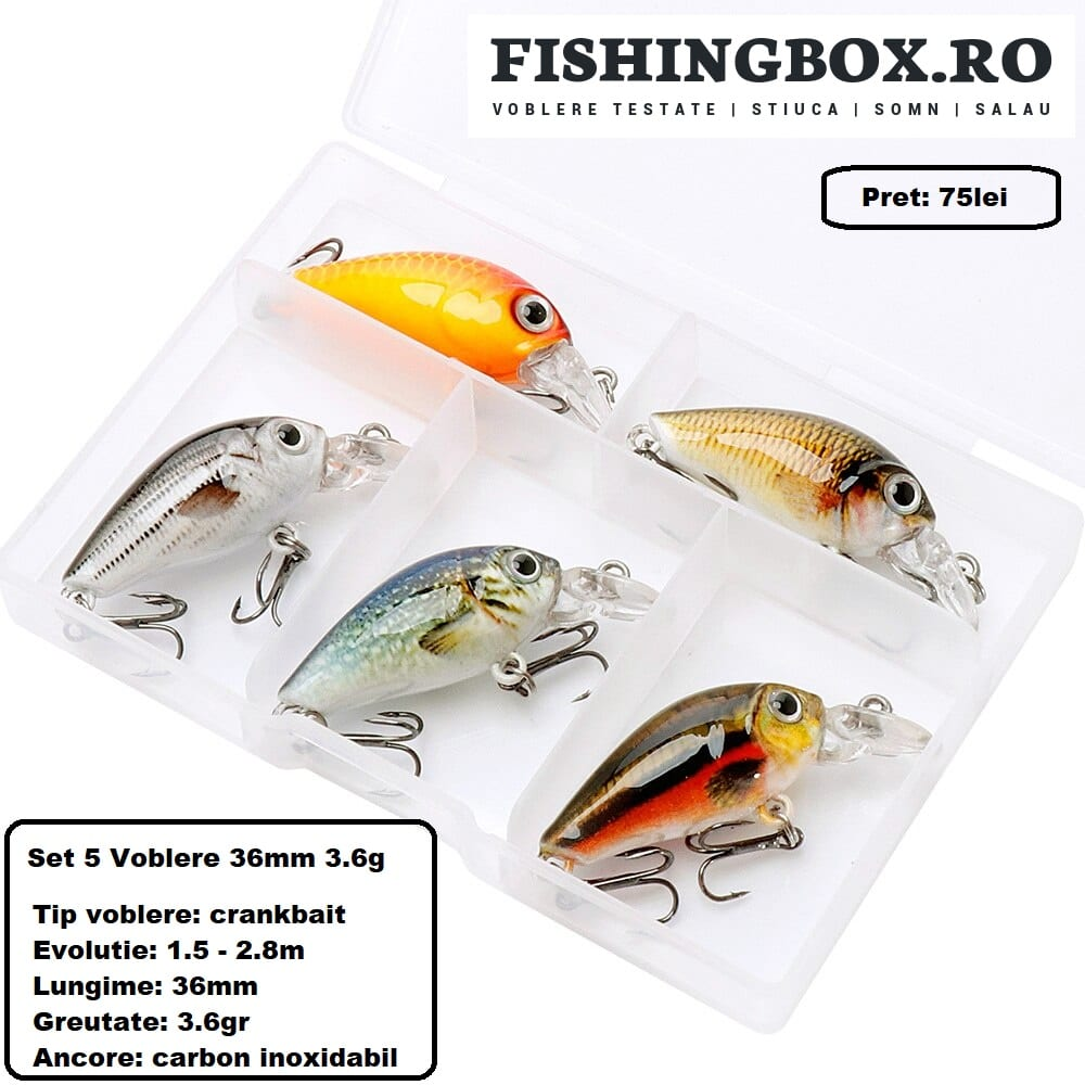 voblere pescuit clean 3.6cm